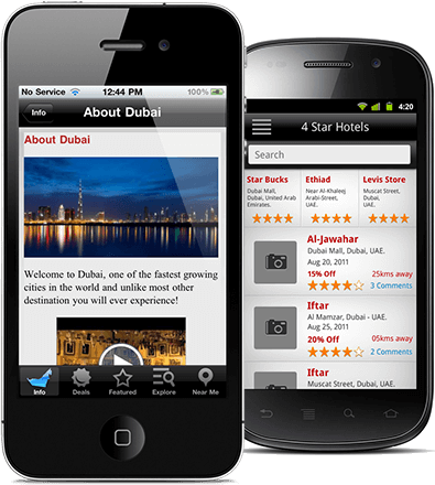 Location-based Tourism Mobile Application